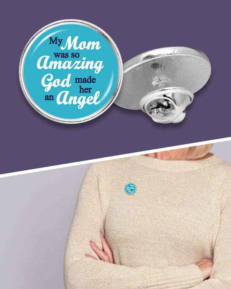 So Amazing Mom Lapel Pin