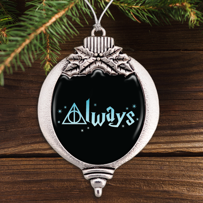 Hallows Always Bulb Ornament