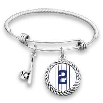 New York Baseball #2 Charm Bracelet