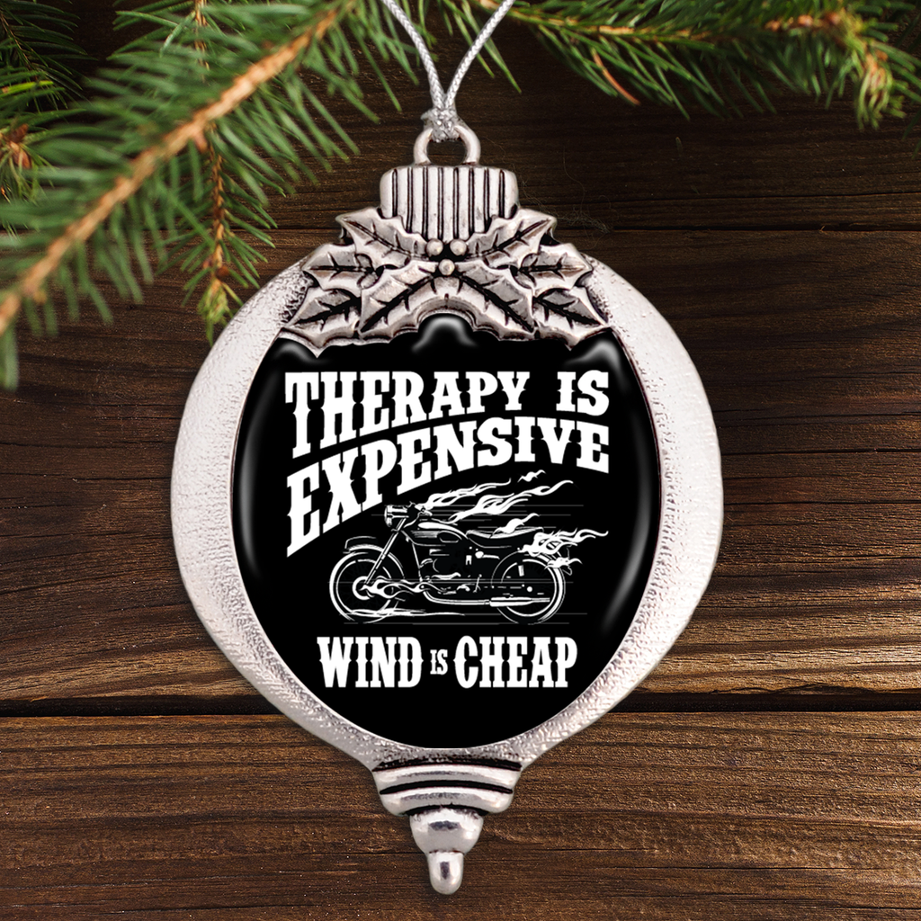Therapy Is Expensive, Wind Is Cheap Bulb Ornament