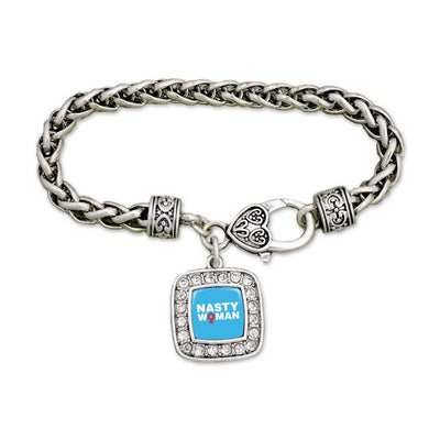 Nasty Woman Hillary Clamp Bracelet