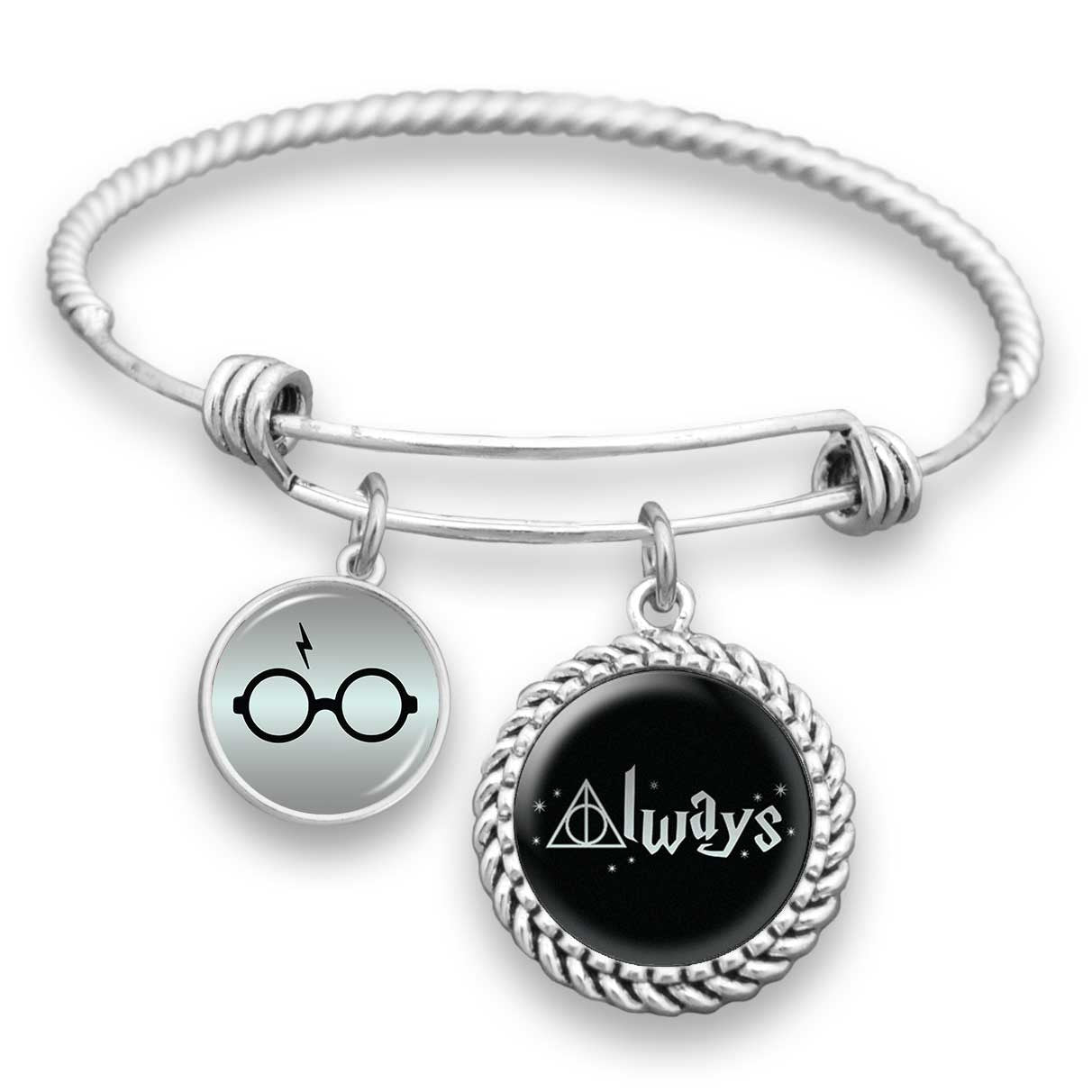 "Hallows ""Always"" Charm Bracelet"