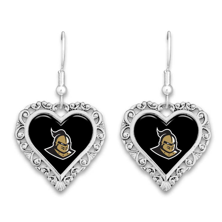 UCF Knights Official Lace Trim Earrings