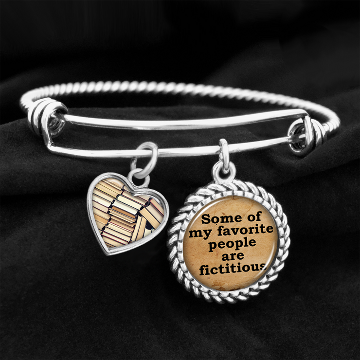 Some Of My Favorite People Are Fictitious Charm Bracelet