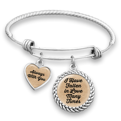 I Have Fallen In Love Many Times, Always With You Charm Bracelet
