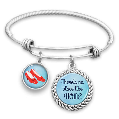 No Place Like Home Charm Bracelet