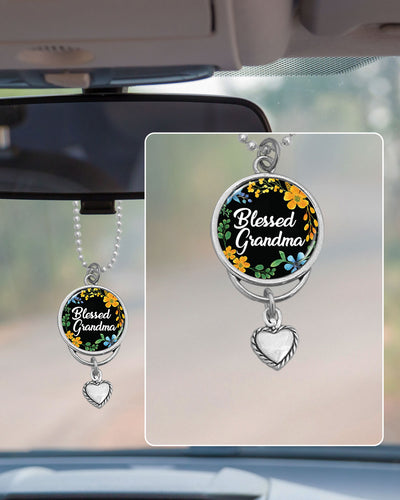 Blessed Grandma Rearview Mirror Charm