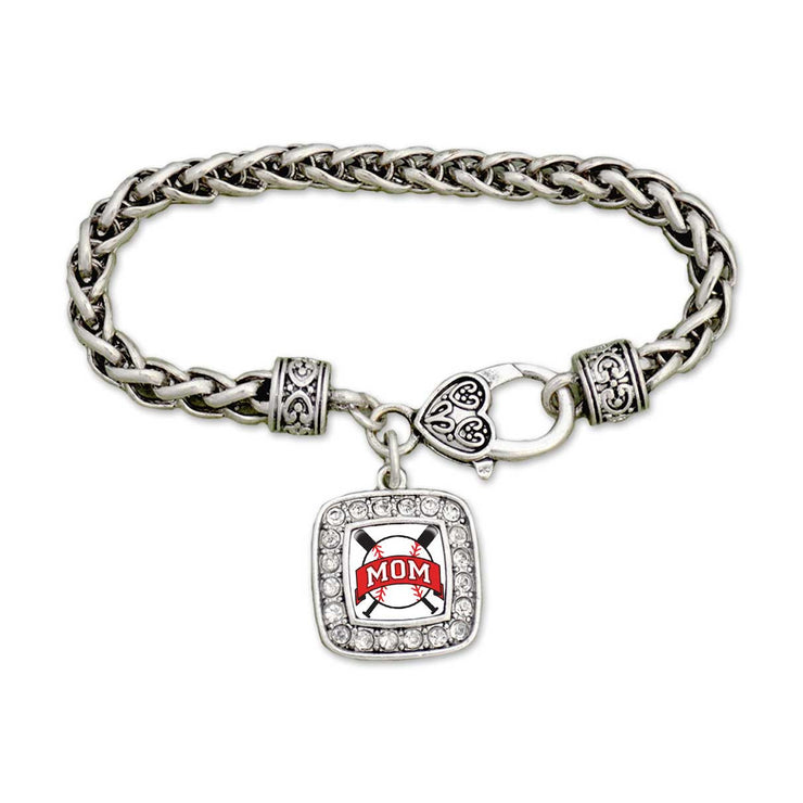 Baseball Mom Clamp Bracelet