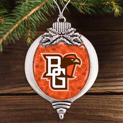 Bowling Green State University Bulb Ornament
