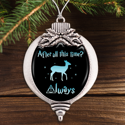 After All This Time Bulb Ornament
