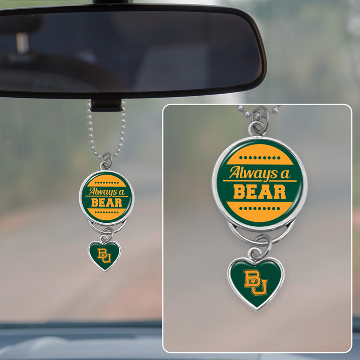 Always A Bear Rearview Mirror Charm