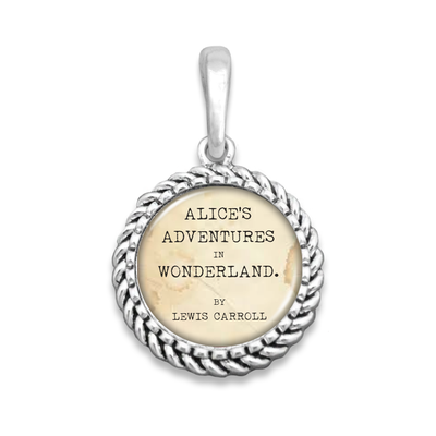 Wonderland Easy-O Zipper Pull Charm