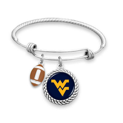 West Virginia Mountaineers Official Bracelet