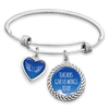Teachers Give Us Wings To Fly Charm Bracelet