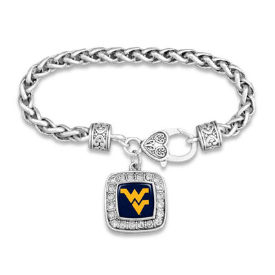 West Virginia Mountaineers Official Clasp Bracelet