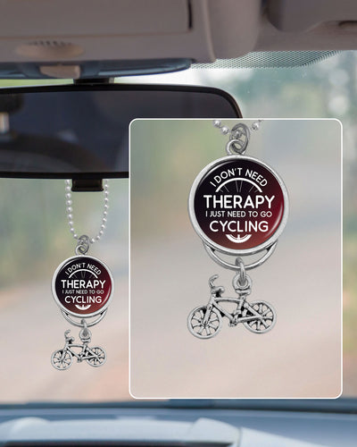 Need To Go Cycling Rearview Mirror Charm