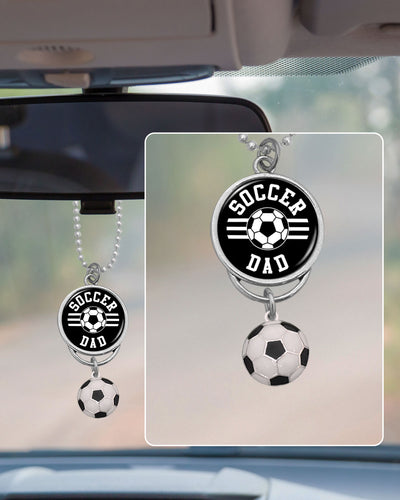 Soccer Dad Rearview Mirror Charm