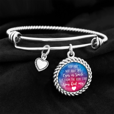 From The Very Start You Had My Heart Charm Bracelet