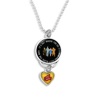 Who You Meet Along The Way Rearview Mirror Charm