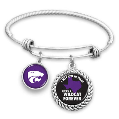 Kansas State Wildcats Out Of State Charm Bracelet