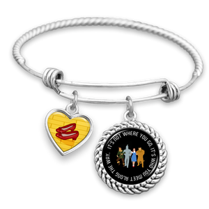 Who You Meet Along The Way Charm Bracelet