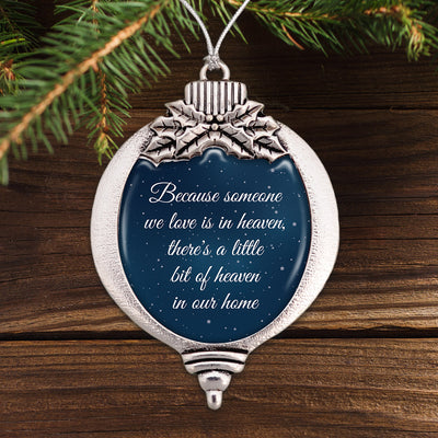 Little Bit Of Heaven Night Sky Bulb Ornament