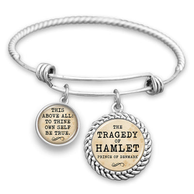 This Above All: To Thine Own Self Be True Charm Bracelet