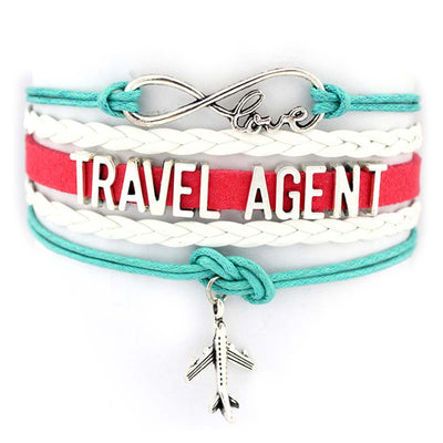 Travel Agent Infinity Love Bracelet