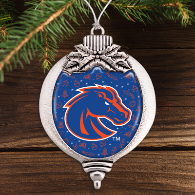 Boise State Broncos Holiday Bulb Ornament