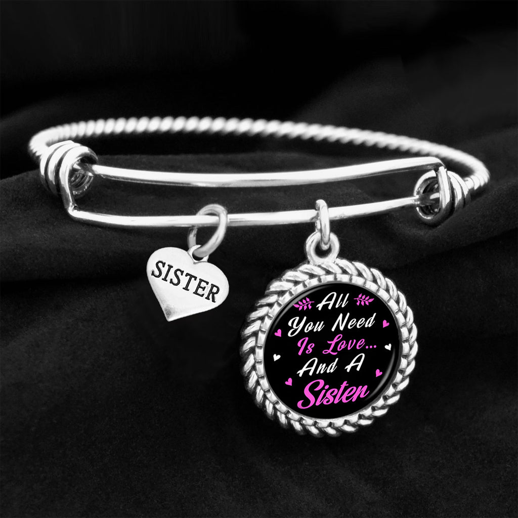 All You Need Is Love And A Sister Charm Bracelet
