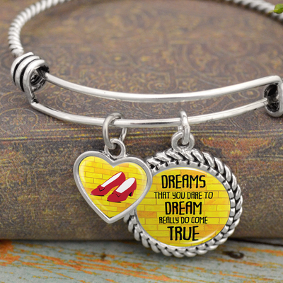 Dreams That You Dare To Dream Really Do Come True Charm Bracelet