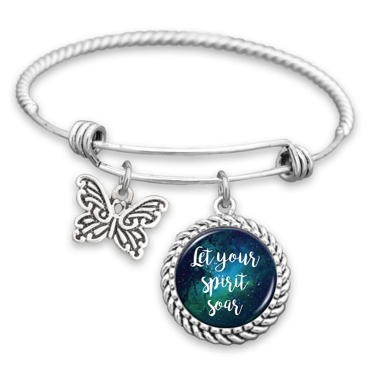 Let Your Spirit Soar Charm Bracelet