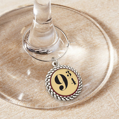 9 3/4 Wine Glass Charm