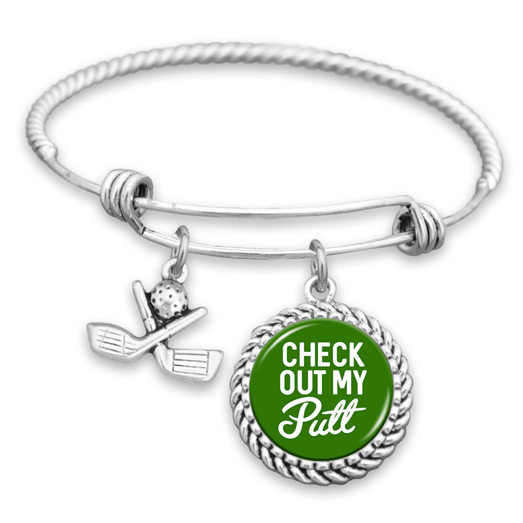 Check Out My Putt Golf Charm Bracelet