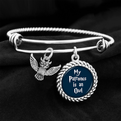 My Patronus Is A Owl Charm Bracelet