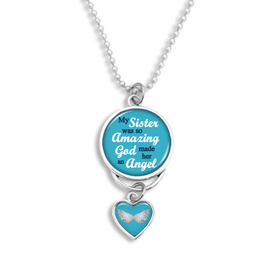 So Amazing Sister Rearview Mirror Charm