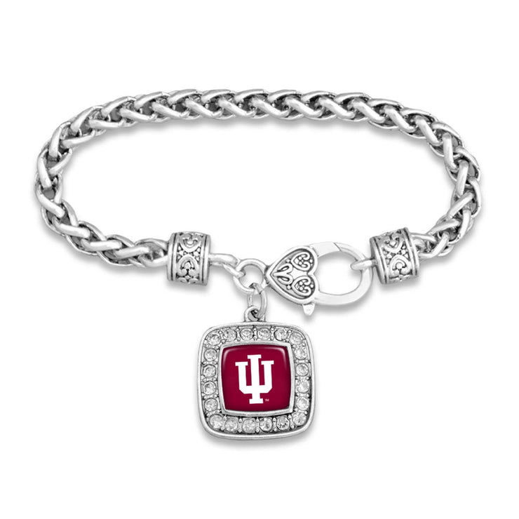 Indiana Hoosiers Official Clasp Bracelet