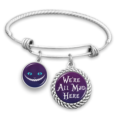 We're All Mad Here Charm Bracelet