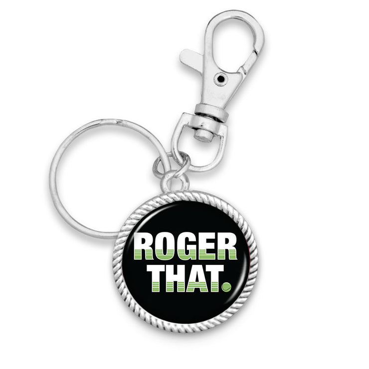 Roger That Key Chain