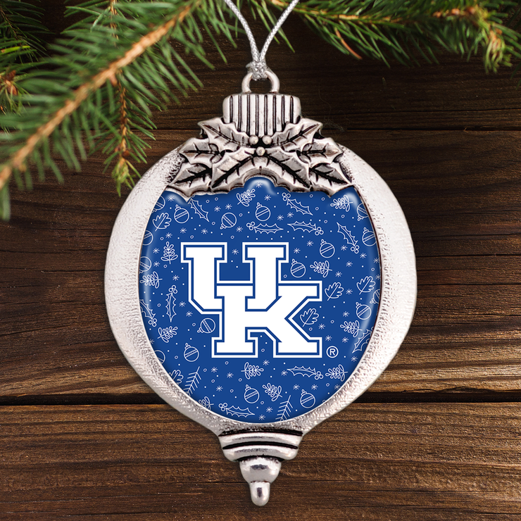 Kentucky Wildcats Holiday Bulb Ornament