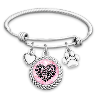Heart Of Paws Charm Bracelet