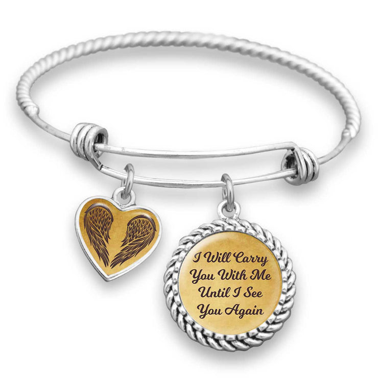 Carry You With Me Charm Bracelet