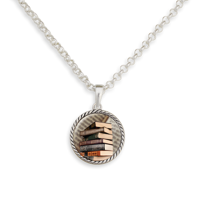 Old Books Necklace