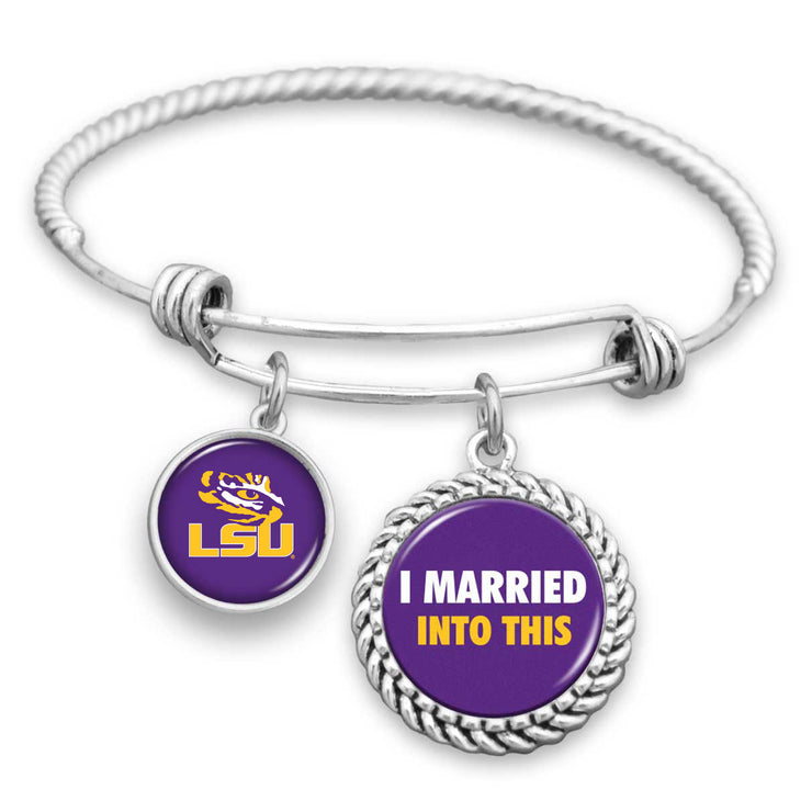 LSU Tigers Married Into This Charm Bracelet