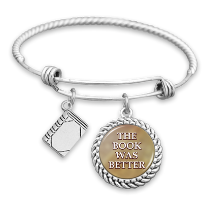 The Book Was Better Charm Bracelet