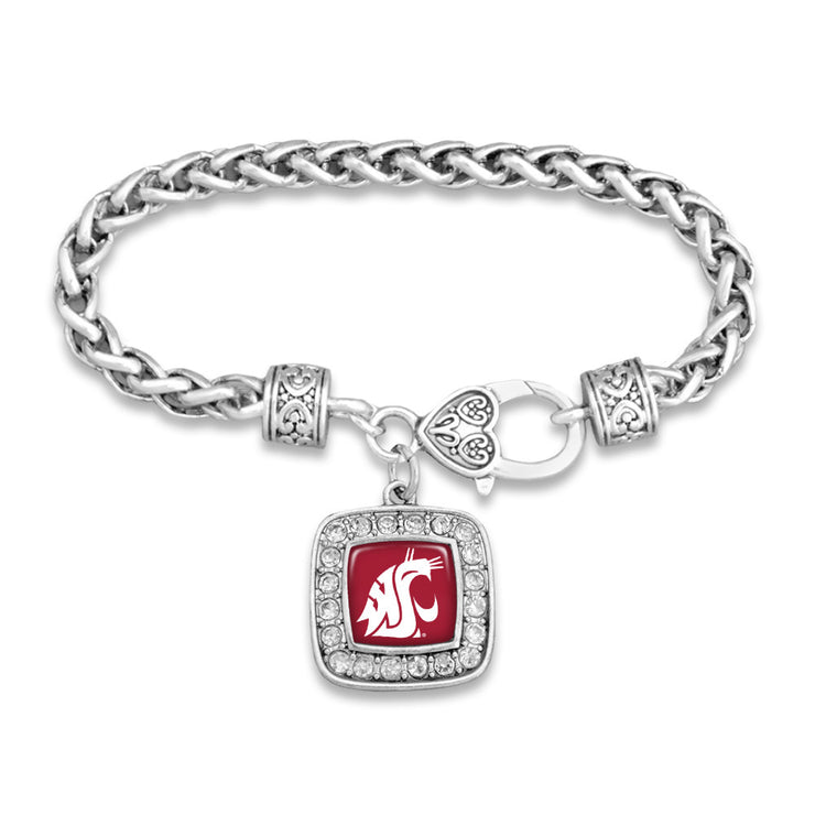 WSU Cougars Official Clasp Bracelet
