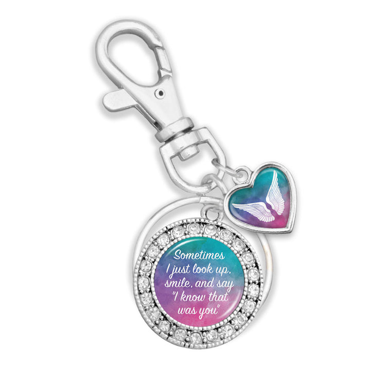 I Know That Was You Watercolor Key Chain