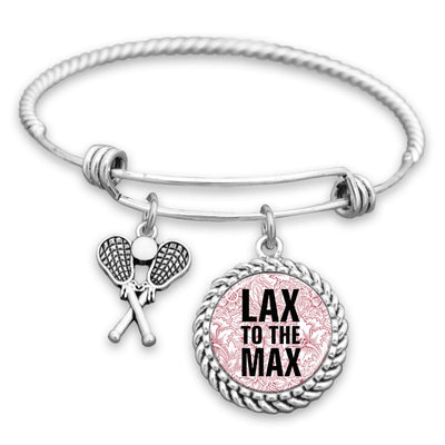 Lax To The Max Charm Bracelet