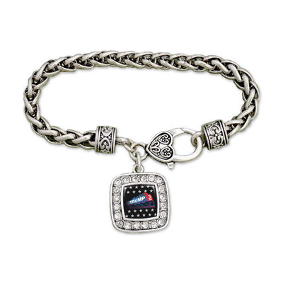 Trump Train Crystal Bracelet