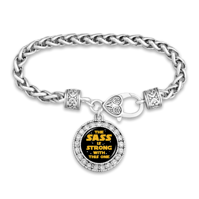 The Sass Is Strong With This One Clasp Bracelet